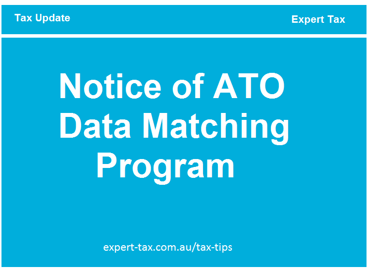 ATO Data Matching Program