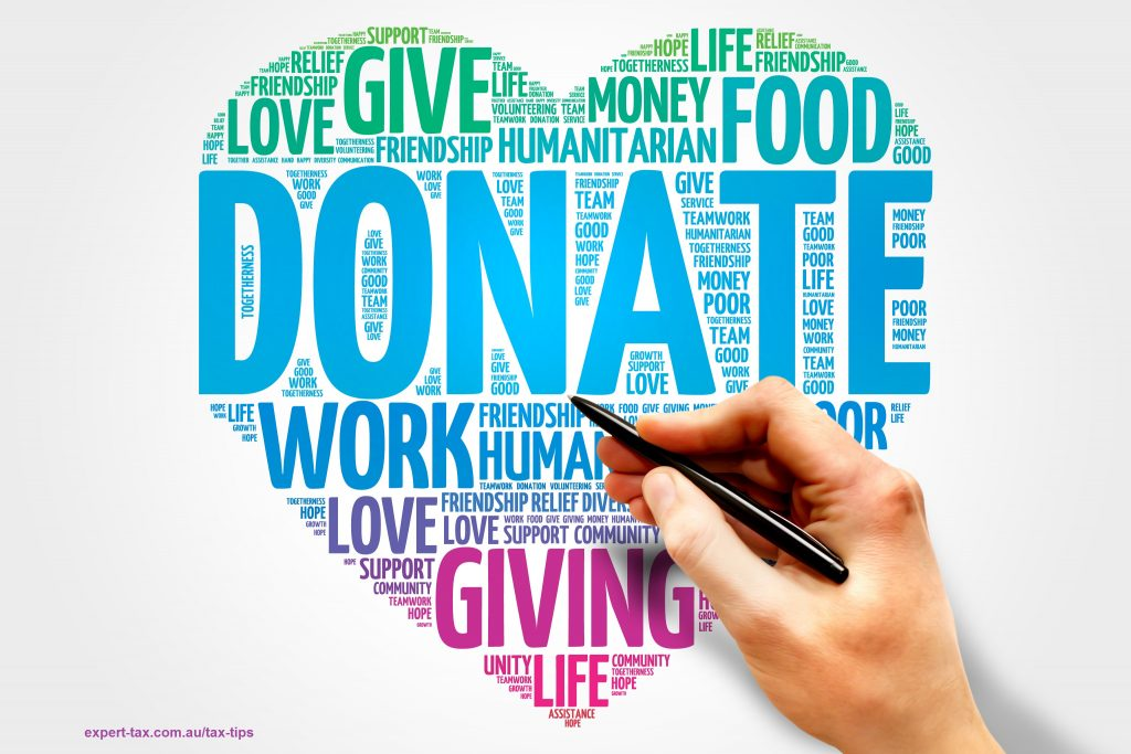 tax deduction for gifts or donations